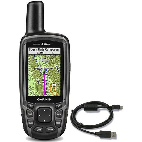 Garmin GPSMAP 64st|Handheld GPS-GLONASS Navigator|Compass|Preloaded Europe Maps Thumbnail 7