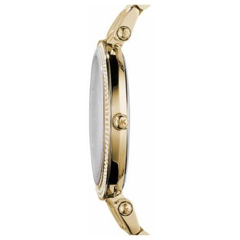 Michael Kors Darci Ladies Watch|Gold Tone Dial Pave Bezel|Bracelet Band|MK3191 Thumbnail 2
