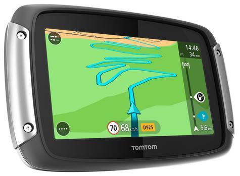 Tomtom Rider 400eu 2015 V6 Motorcycle GPS SATNAV Lifetime UK Europe 45 Maps Thumbnail 2