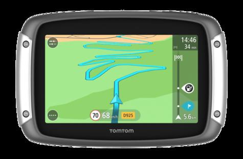 Tomtom Rider 400eu 2015 V6 Motorcycle GPS SATNAV Lifetime UK Europe 45 Maps Thumbnail 3