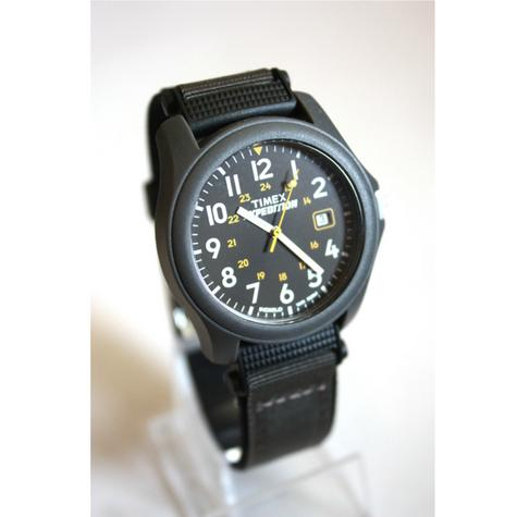 Timex T42571 Expedition Camper Watch|Black Dial|Analogue Display|Grey Fast Strap Thumbnail 6