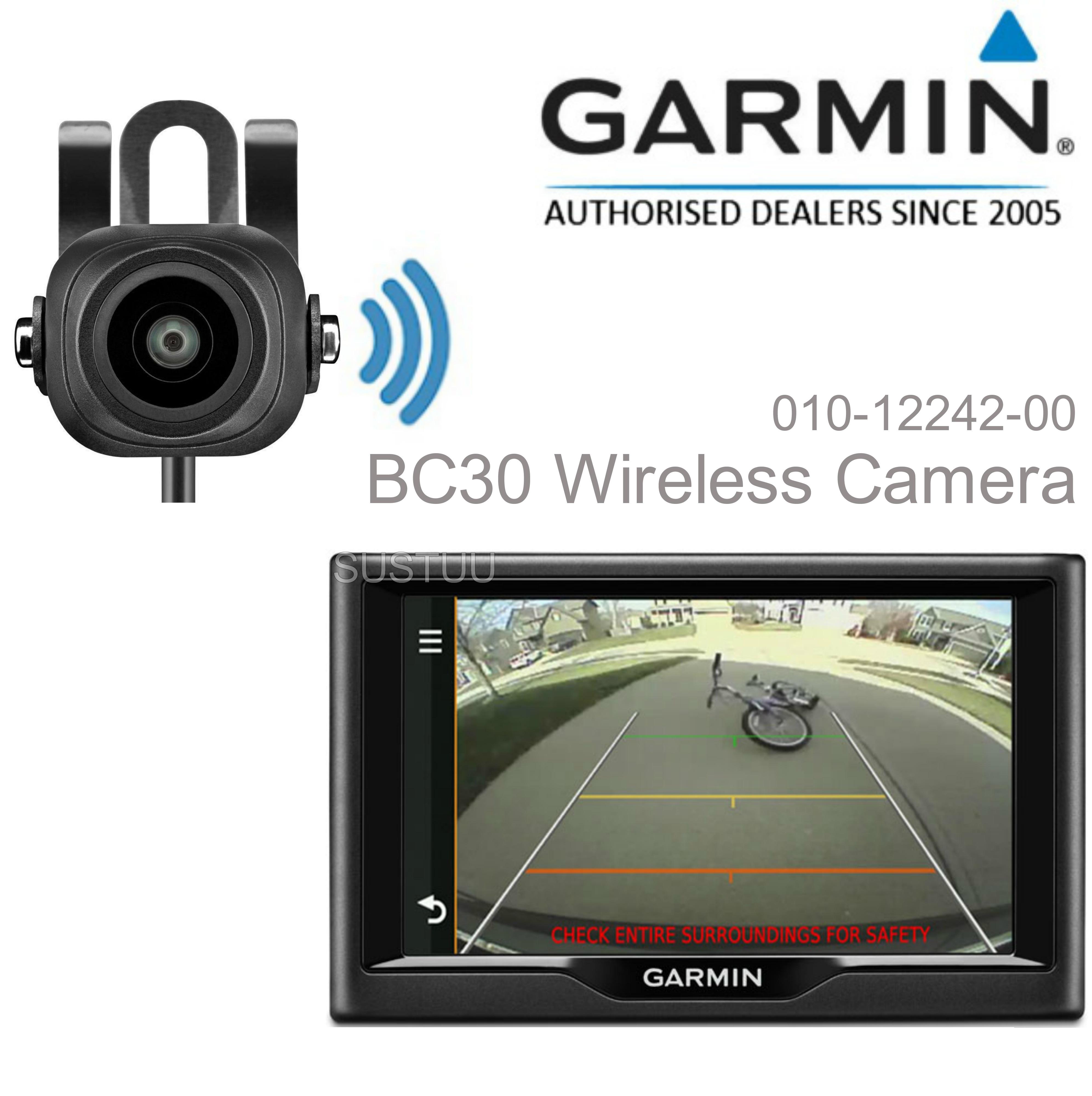 Garmin BC30 Wireless Reverse/ Parking Backup Camera | For Nuvi-Dezl/Truck-Camper