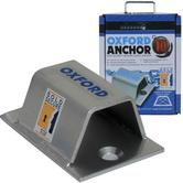 Oxford Heavy Duty Bike Bicycle Cycle Ground Anchor for Floors & Walls - LK395