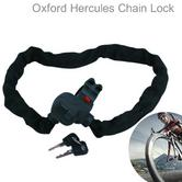 Oxford Hercules Bicycle Chain Lock Quick Release Jubilee Clip Bracket 90cm x 6mm