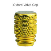 Oxford Bike Cycle Bicycle BMX Valve Cap | For Tire Valves | OF889 | Gold