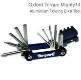 Oxford Torque Mighty 14 Aluminium Folding Bike Multi Tool?For Bicycle/Bike?TL203