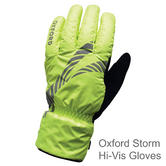 Oxford Storm Stop Cycling Bicycle Hi Vis Gloves | Waterproof | TM972L | Large | Yellow