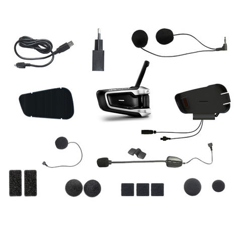 Cardo Scala Rider PackTalk|Duo MotorCycle Handsfree|2xBluetooth-Intercom-Headset Thumbnail 8