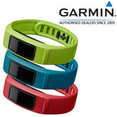 Garmin Replacement Active Wrist Bands*3 | For Vivofit 2 | Red/Blue/Green Color | Small