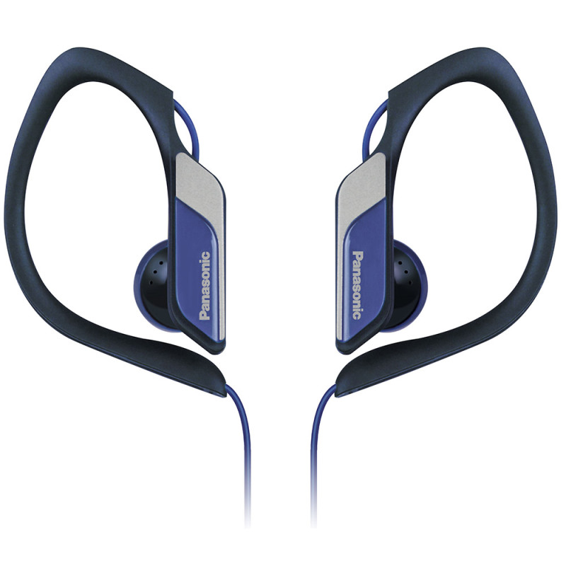 Panasonic Water & Sweat Resistant Sports Earbud Headphones - Blue  RPHS34/BLUE