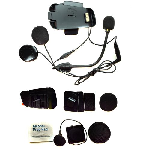 Cardo Scala Rider Microphone / Audio Kit |H elmet Dual Mic |F or SmartPack & Packtalk