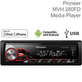 Pioneer High Power Car Stereo Player | RDS Tuner| MP3 | USB/Aux | iPod-iPhone-Android