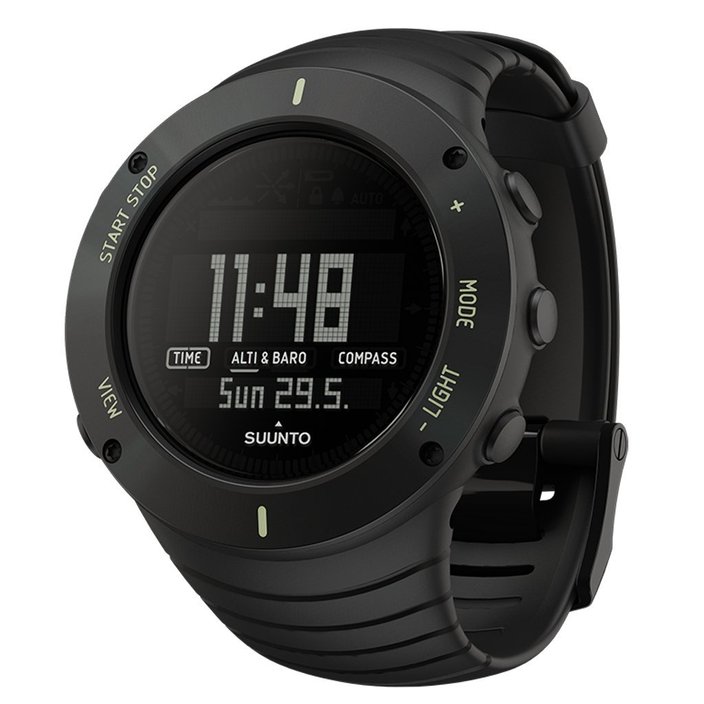 Suunto Core Ultimate Black GPS Outdoor Altimeter Barometer Compass Sports Watch