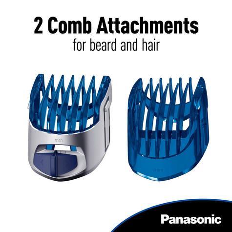 Panasonic Wet Dry Men's Hair-Body Rechargeable Trimmer Clipper | Cordless | ERGS60S Thumbnail 3