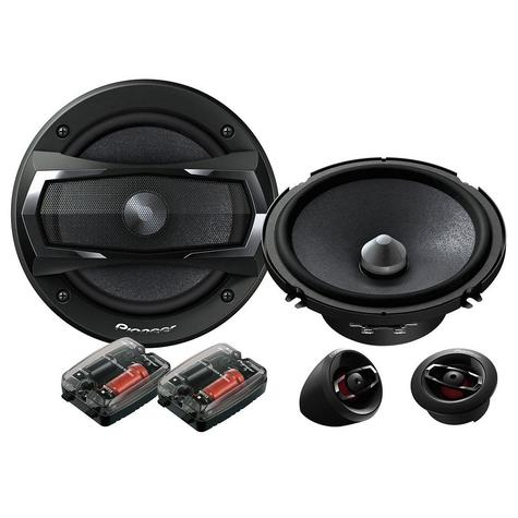 Pioneer TS A173Ci Car Door Speaker | 2 Way Component System | 17 Cm | 350W | 60Rms | Black Thumbnail 1