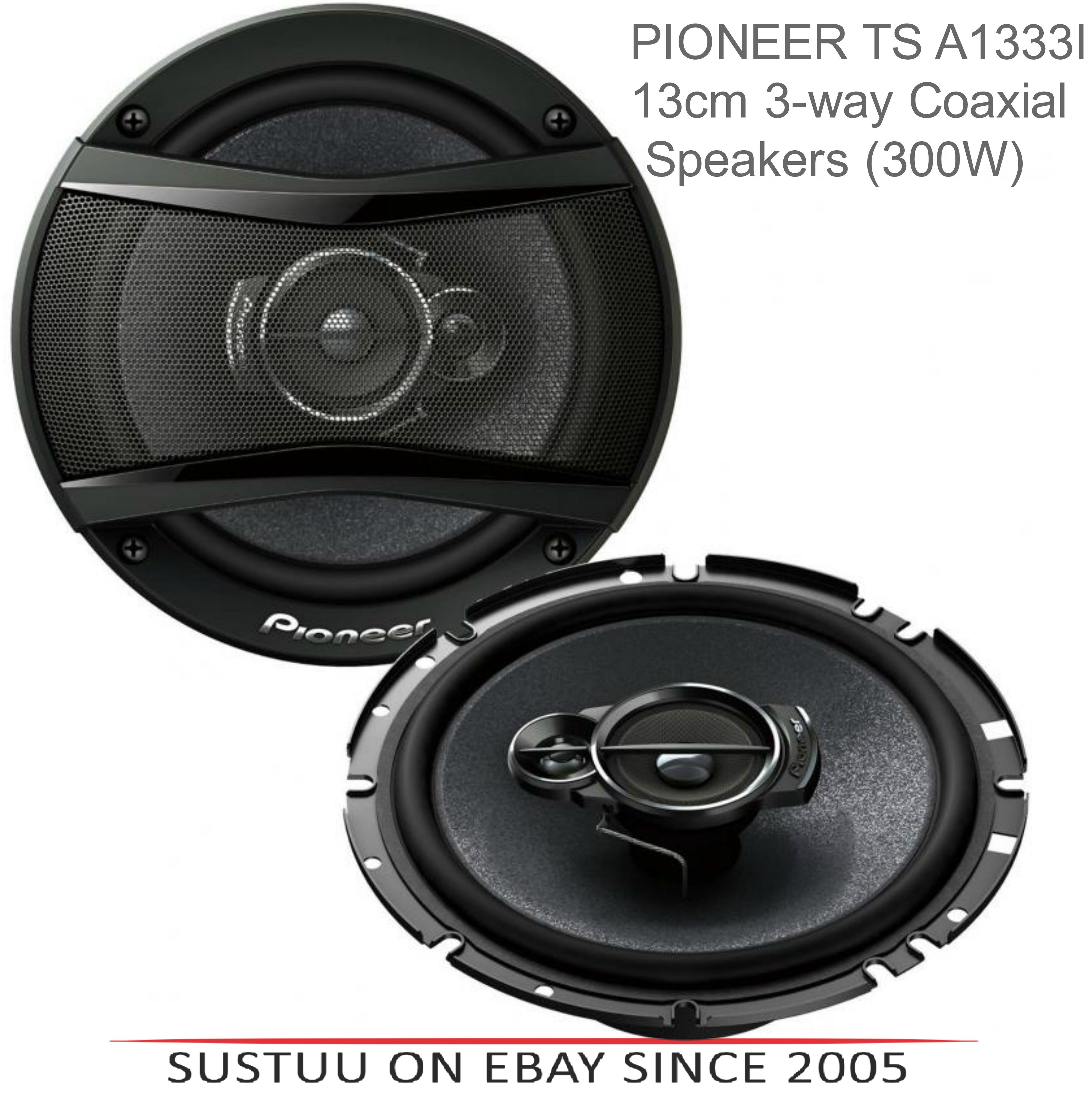 Pioneer TS 1333i?In Car 3-way Coaxial Speakers?Door-Shelf?13cm?300W max - New