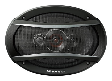 "Pioneer TS A6934i 6x9"" 4 Way 600W Coaxial Shallow Carbon Graphite Car Speakers Thumbnail 2"