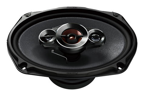 "Pioneer TS A6934i 6x9"" 4 Way 600W Coaxial Shallow Carbon Graphite Car Speakers Thumbnail 3"