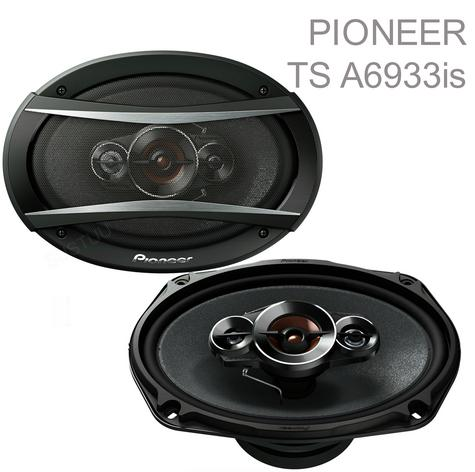 "PIONEER TS A6933is 6x9"" 3 Way Carbon Graphite Coaxial Car Audiol Speaker - NEW Thumbnail 1"