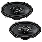 Pioneer TS A6834i 4Way Custom Fit Coaxial Car Audio Speakers | 6x8"