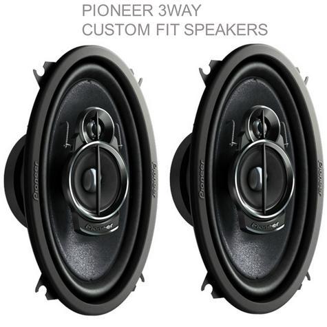 """NEW Pioneer TS A4633i ?3 Way Custom Fit Car Speakers?200w Max?6""""x4""""?1YR WARRANTY Thumbnail 1"""