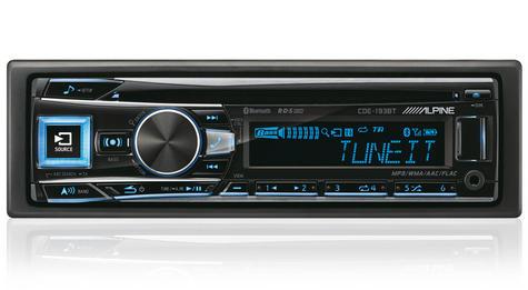 Alpine Digital Car Stereo Media Receiver Player | Radio/Cd/Mp3/USB/Aux/Bluetooth Thumbnail 1