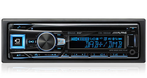 New Alpine CDE-196DAB Car Stereo FM MW LW CD Aux USB Bluetooth Fit Apple Android Thumbnail 5