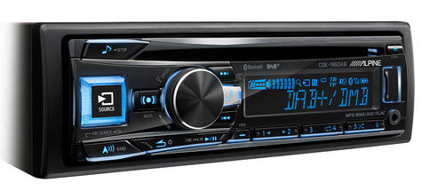New Alpine CDE-196DAB Car Stereo FM MW LW CD Aux USB Bluetooth Fit Apple Android Thumbnail 6