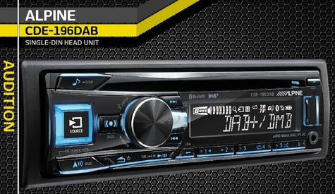 New Alpine CDE-196DAB Car Stereo FM MW LW CD Aux USB Bluetooth Fit Apple Android Thumbnail 3