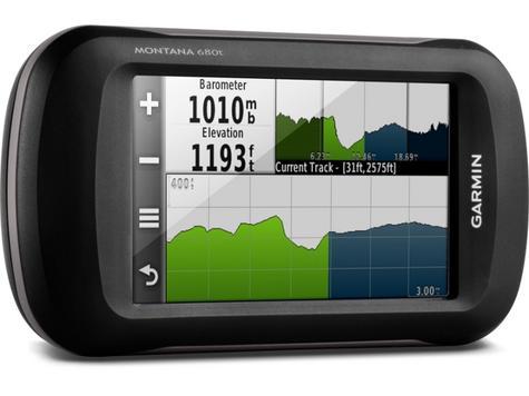 Garmin Montana 680T GPS Handheld Navigator + Europe TOPO Maps & 8MP Camera NEW Thumbnail 4