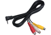 Kenwood AV Lead | Mini-jack To RCA Cable Adaptor | For DDX 5022/5024-DNX 5220BT/5240BT