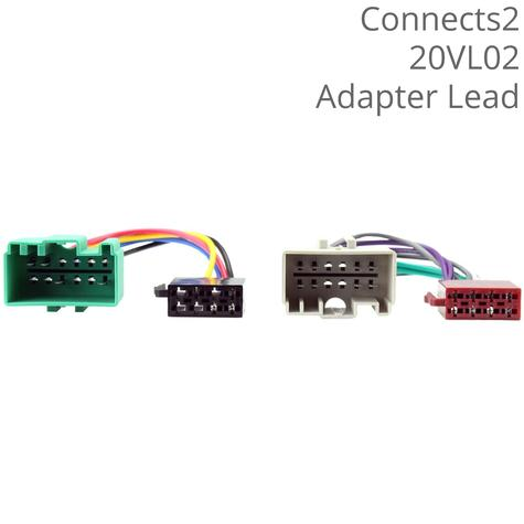 C2 Car ISO Wiring Harness Adaptor Lead | For Volvo S40/S60/S80/V70/V40/V80/XC70 Thumbnail 1