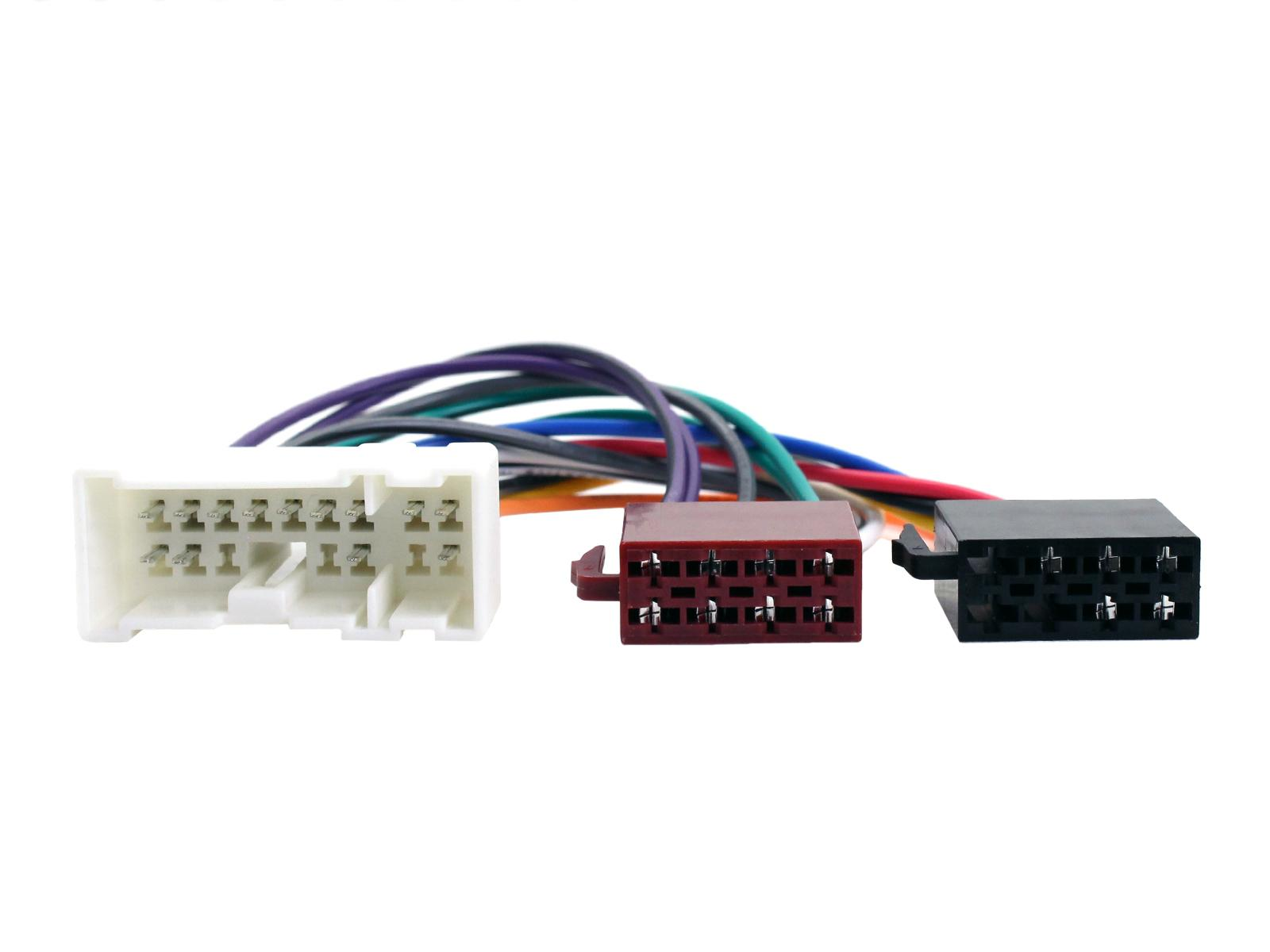 C2 Car Stereo Iso Wiring Harness Adaptor For Nissan Almera X Trail Information About Radio Adapters Primera