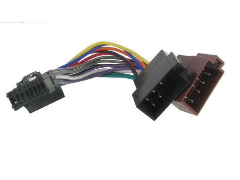 C2/Autoleads After Market Harness Adapter|Fits Pioneer 16 PIN to ISO Thumbnail 1