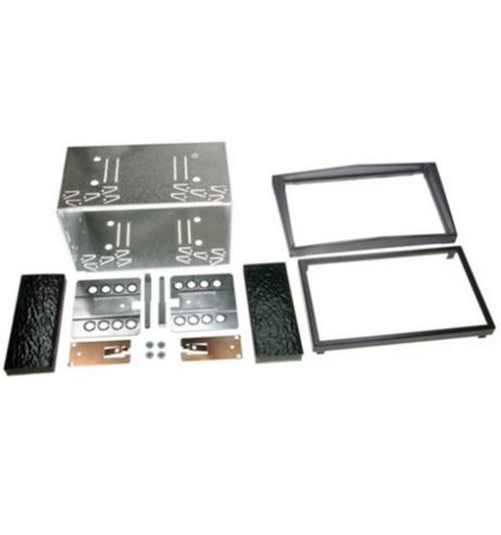 C2 Car Stereo Double Din Fascia Plate For Vauxhall Zafira B/Corsa/Astra H/Antara Thumbnail 1