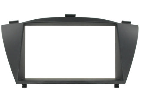 NEW C2 24HY15 Double Din Car Stereo Fascia Adaptor Plate For Hyundai ix35/Tuscon Thumbnail 1