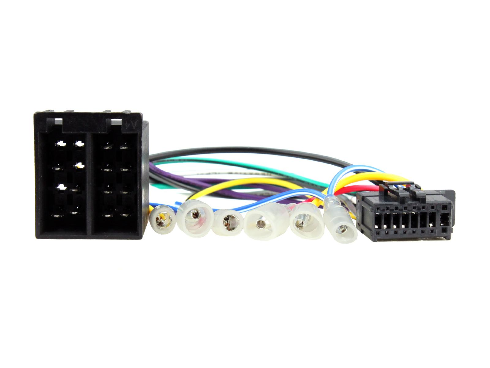 C2 21pn07 16 Pin Car Stereo Iso Wiring Harness Adaptor Lead For Adapter Pioneer Headunit