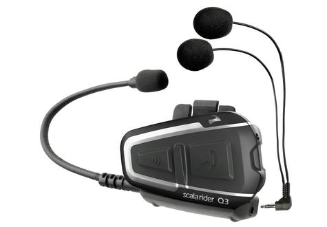Cardo Scala Rider Q3 MultiSet Headset | Motorcycle / Bike Helmet Intercom System | Black Thumbnail 3