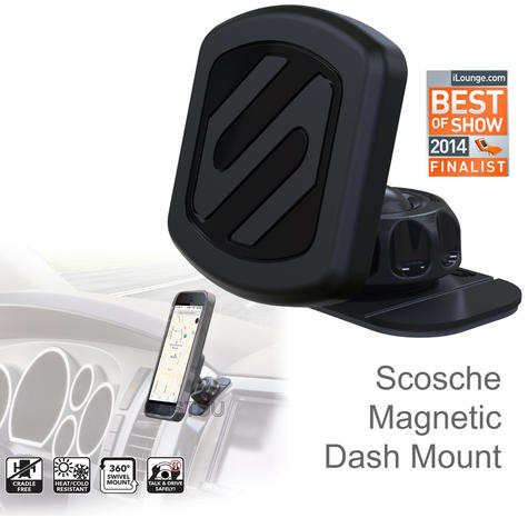 Scosche Universal Magic Mount | Magnetic Car Dash Holder | For iPhone X/XS/XS Max/XR Thumbnail 1