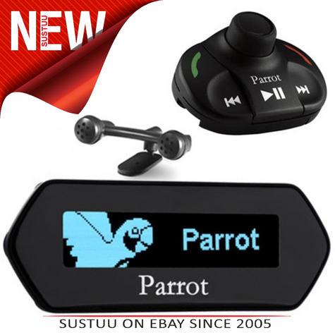 Parrot MKi9100 MK2 Bluetooth Handsfree Car Kit with USB & iPod / iPhone Control Thumbnail 1