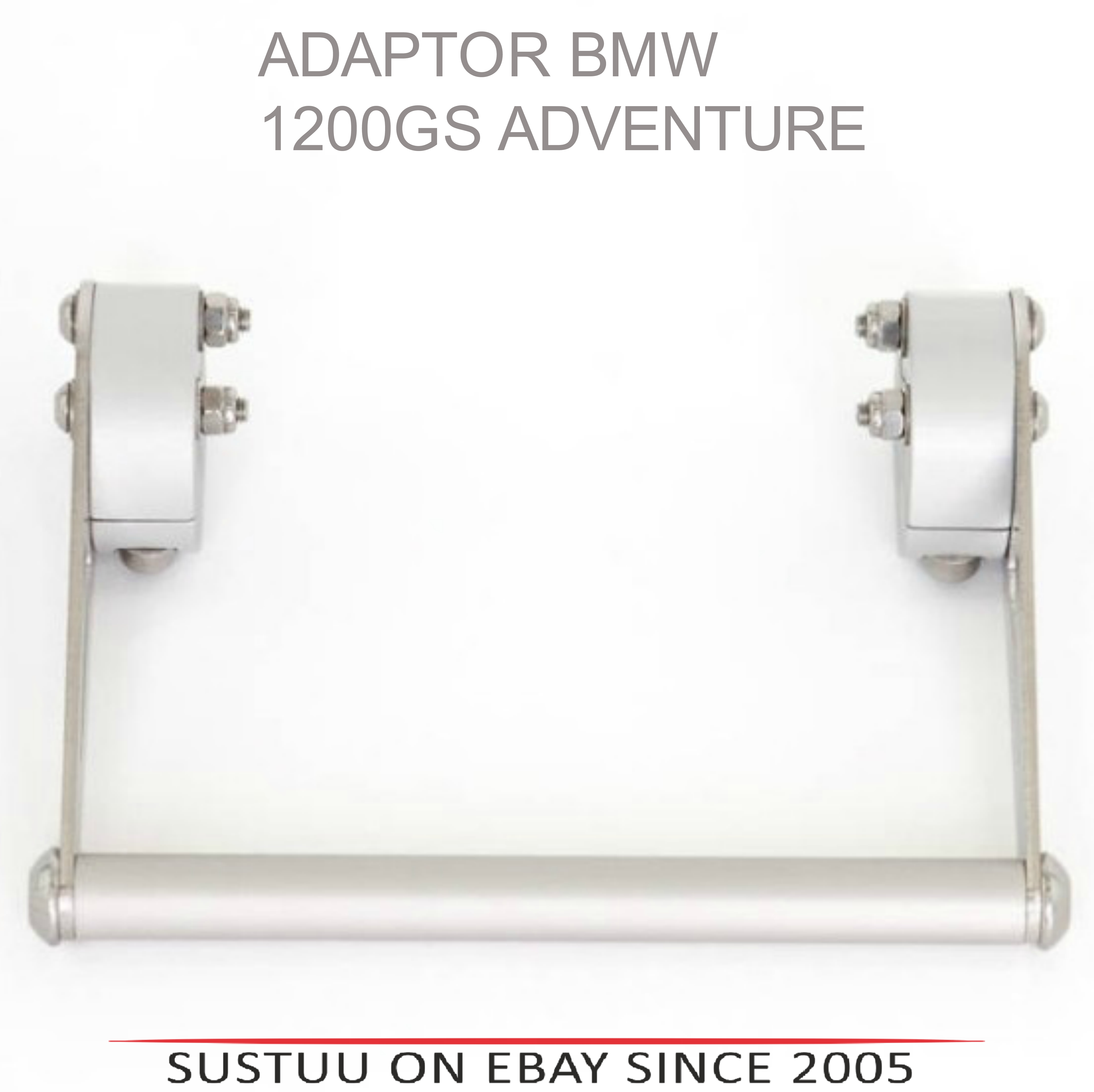 NEW Touratech 0440770 Lockable Mount For BMW 1200GS Adventure Air Cooled 2013>