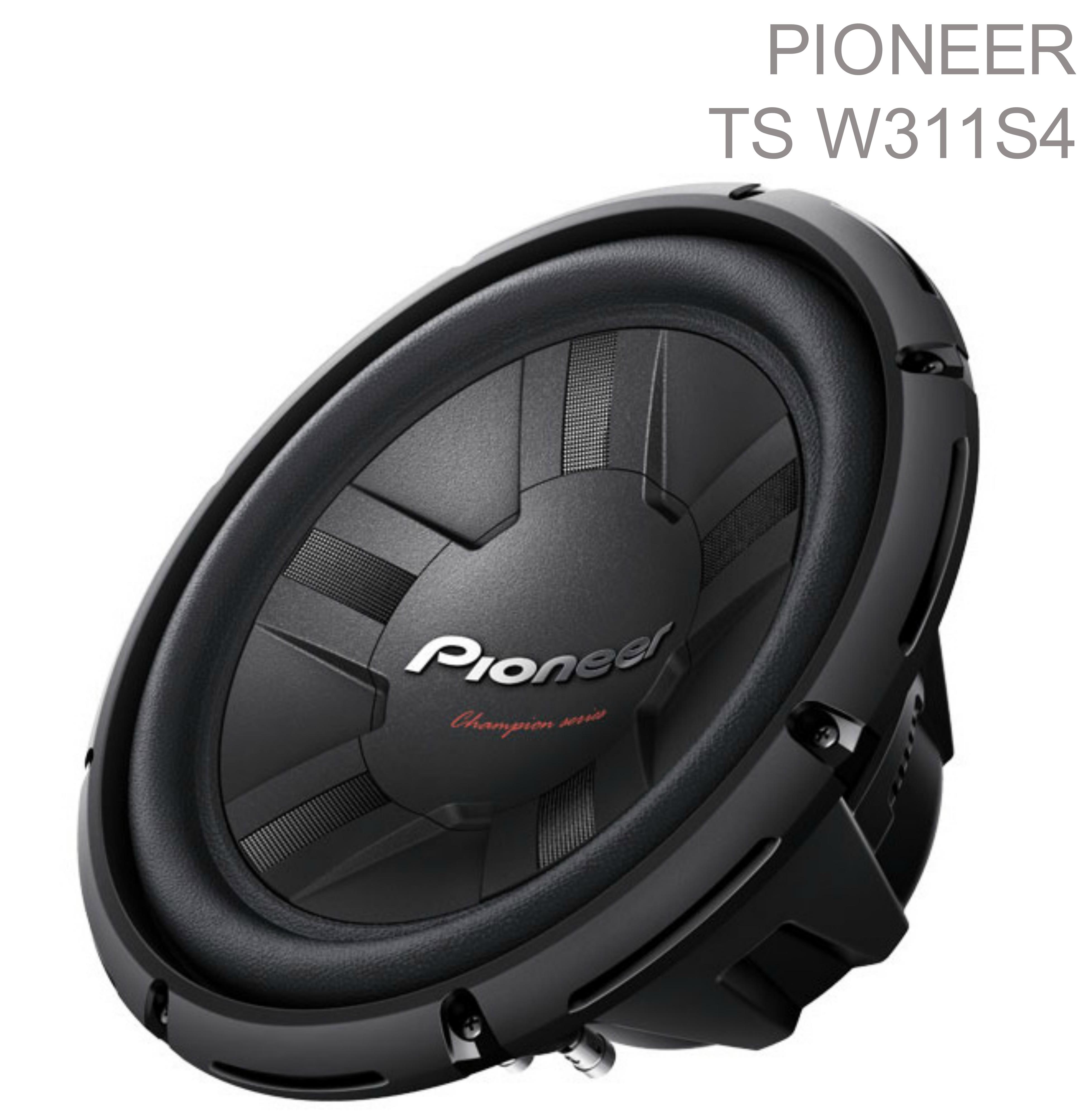 Pioneer 30 cm 4? Enclosure-Type Car Audio Single Voice Coil Subwoofer (1400W)NEW