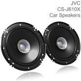 JVC CS-J610X 16cm Car/Van Door Dual Cone Audio Hybrid Speakers | 300W Peak Power