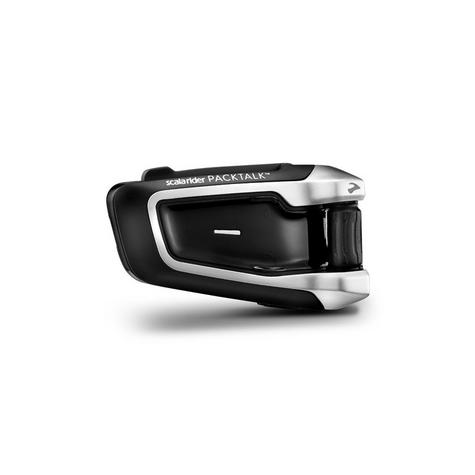 Cardo Scala Rider Packtalk Solo | Motorcycle / Bike Bluetooth Helmet Intercom System Thumbnail 3