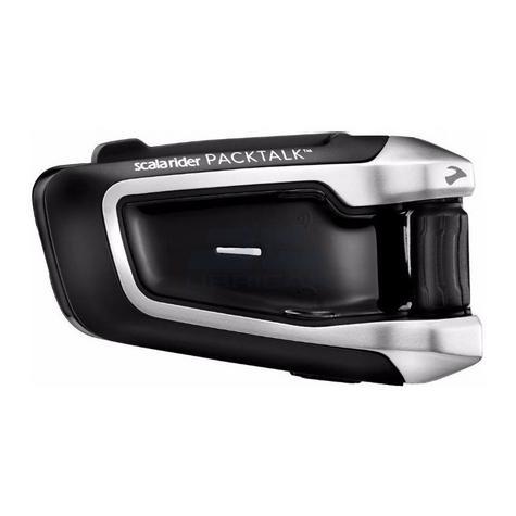 Cardo Scala Rider Packtalk Solo | Motorcycle / Bike Bluetooth Helmet Intercom System Thumbnail 4