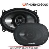 "Phoenix Gold 2 Way Car Door/Shelf Coaxial Speakers|Z Series|6""X4""