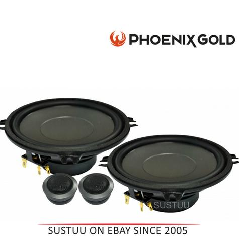 Phoenix Gold 2 Way Car Door/Shelf Component Speaker Kit|Z Series|13cm|140W|Z5CS Thumbnail 1