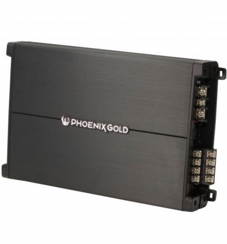 Phoenixgold Z3004 1200 Watt Hi/Low Level Remote Bass Control 4 Channel Amplifier Thumbnail 4