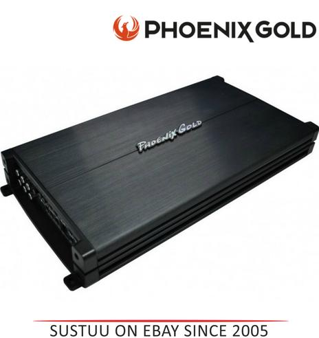 Phoenixgold Z6005 2400 Watt 5 Channel Hi/Low Level Remote Bass Control Amplifier Thumbnail 1