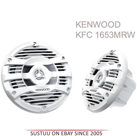 Kenwood KFC 1653MRW|2 Way Flush Mount Marine 2Loudspeaker System|16cm|WaterProof Thumbnail 1